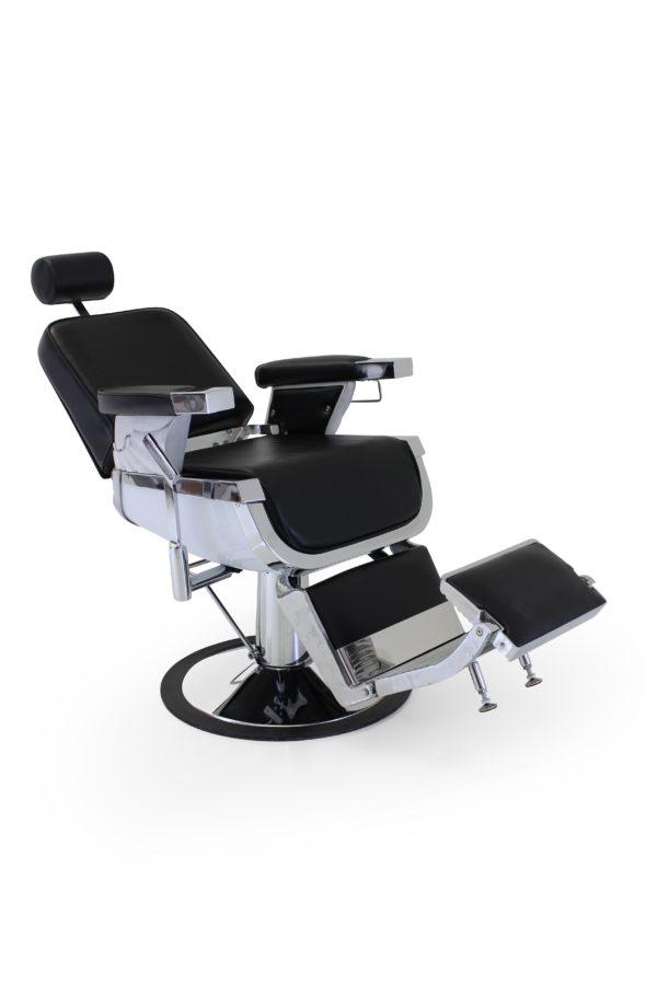 Barber chair | REM | Emperor Black | Friseur stuhle | Barbershop | Friseursalon