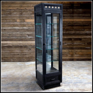 Barber Classic Black Vitrine | Barbersconcept | Barberfurniture