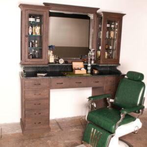 Vintage barberplatz | Barbersconcept | Vintage furniture
