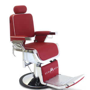 Barberchair | Rem Emperor Select | RED | Friseurstuhl