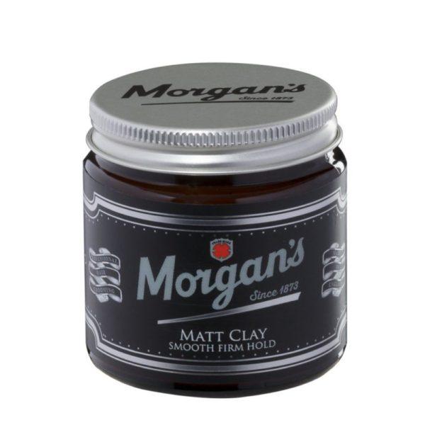 Morgans Matt Clay   Stylingcreme   mittleren halt   Aussehen mit Volumen und Struktur. Eine cremige Beschaffenheit ermöglicht eine leichte Anwendung.