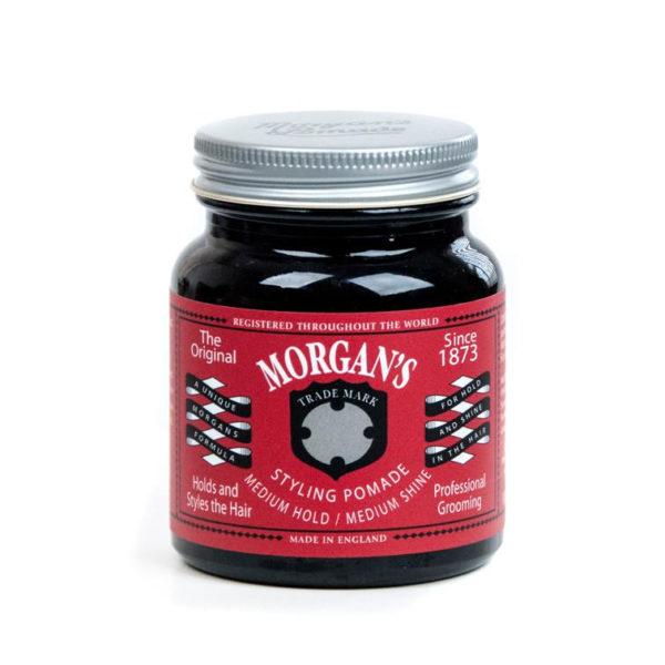 Morgan's Pomade Mittlerer Halt 100 | Echte Pomade | Friseurpomade | Beste Preise Barbershop-Zubehör Friseur-Konzept Ihre Pomade