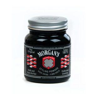 Morgan's Pomade Ölig Glanz 100 | Barbersconcept | Beste preise | Webshop | Eine Pomadenmischung, die extra starken Halt gibt, die ein öliges (aalglattes) Aussehen ermöglicht, mit lang anhaltendem Halt und Präzision.