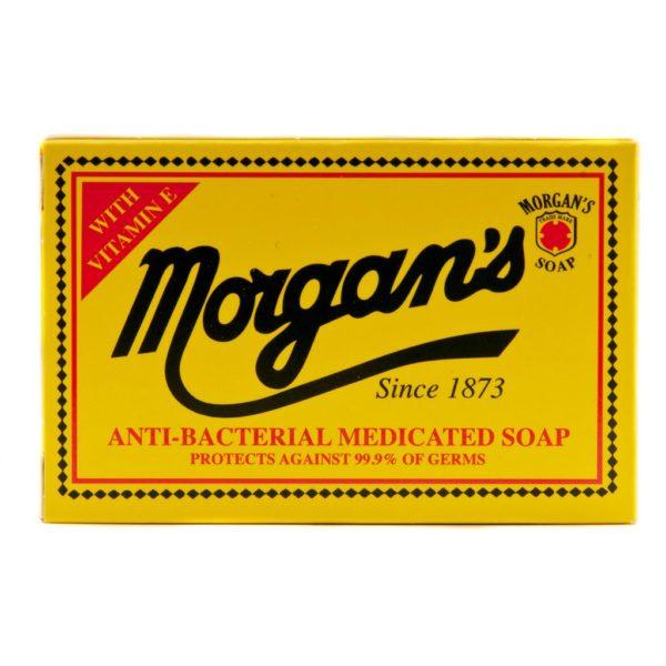 Morgan's Anti Bacterial Soap | Schutz gegen 99,9% aller Keime, tiefenreinigend, bietet lang anhaltenden Schutz. Geeignet fürs Gesicht, hilft Infektionen der Haut und Akne zu verhindern. Täglicher Gebrauch für saubere, gesunde und keimfreie Haut.