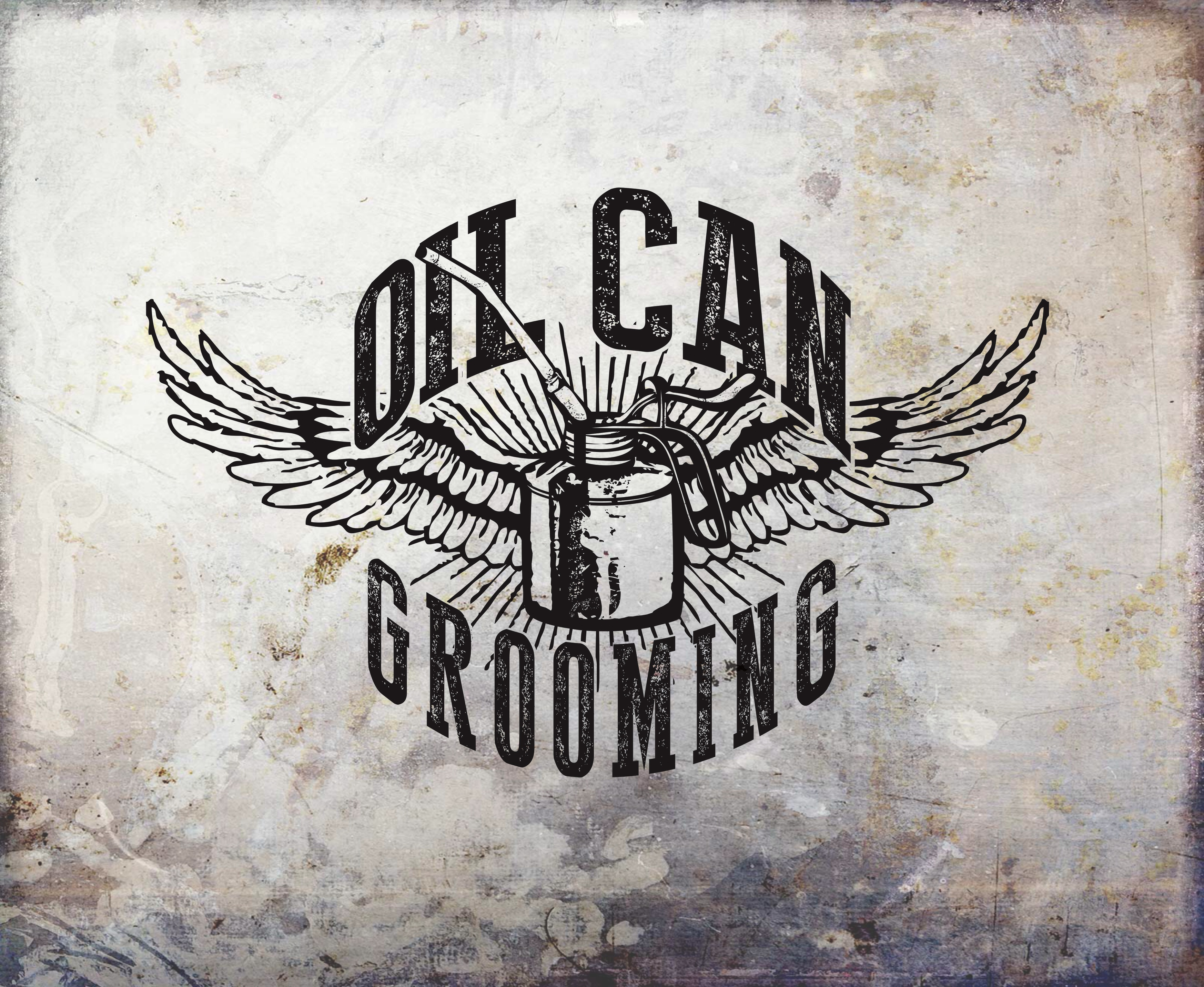 Oil Can Grooming Grease Pomade Iron Horse