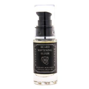 Morgan´s Beard Softening Elixir | Unsere einzigartige Rezeptur, um auch die trockensten und strubbeligsten Bärte weich und glatt zu machen. Nur ein paar Tropfen sind nötig, um Gesichtshaar und Haut anzufeuchten und zu beruhigen. Enthält eine Mischung aus natürlichen Ölen mit Mandarinen-, Bergamott-, Ingwer und Arganöl. | Morgan´s Beard Softening Elixir
