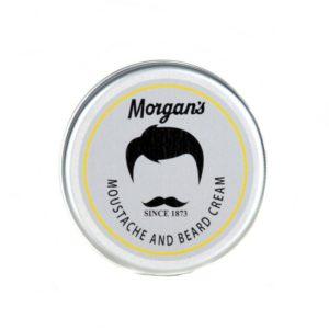 Morgan´s Moustache & Beard Cream | Diese Creme pflegt und versorgt die Haare und macht Ihren Bart und Schnurrbart weich. Sie lässt Ihre Barthaare angenehm duften. Enthält Aloe Vera, Weizenkeimöl und Virgin Olivenöl, um das Haar aufzubauen.