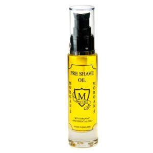 Morgan´s Pre Shave Oil | Ein Öl vor der Rasur, für Feuchtigkeit und um Ihre Haut auf die Rasur vorzubereiten. Kann auch als Bartöl verwendet werden.