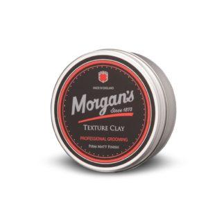 Morgan´s Styling Texture Clay | Ein vielseitiges Produkt, um dickem Haar Struktur zu geben oder um unordentliche Frisuren zu formen. Kräftigende Texturen geben Halt und Spannung, um das Haar zu formen und zu kräftigen.
