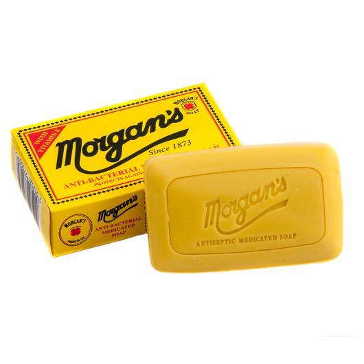 Morgans anti bacterial soap | Barbers concept | Schutz gegen 99,9% aller Keime, tiefenreinigend, bietet lang anhaltenden Schutz. Geeignet fürs Gesicht, hilft Infektionen der Haut und Akne zu verhindern. Täglicher Gebrauch für saubere, gesunde und keimfreie Haut.