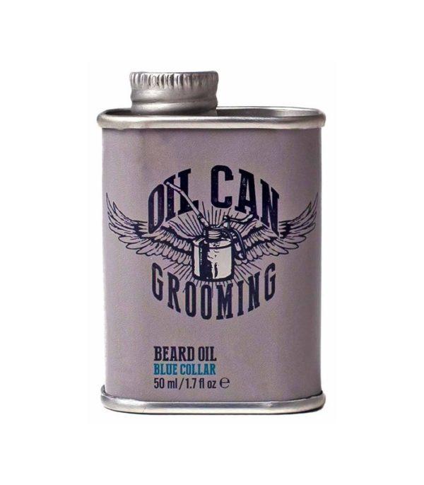 Oil Blue Collar | BEARD OIL - BLUE COLLAR ÖL FÜR DEN BART OIL CAN – GESCHMIEDET FÜR DICH. | Barbersconcept