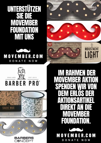 Movember Barbersconcept